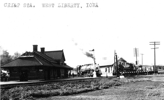 West Liberty Depot 1933
