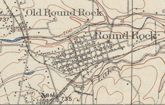 Round Rock Topo