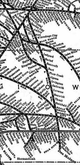 eagle grove elmore map