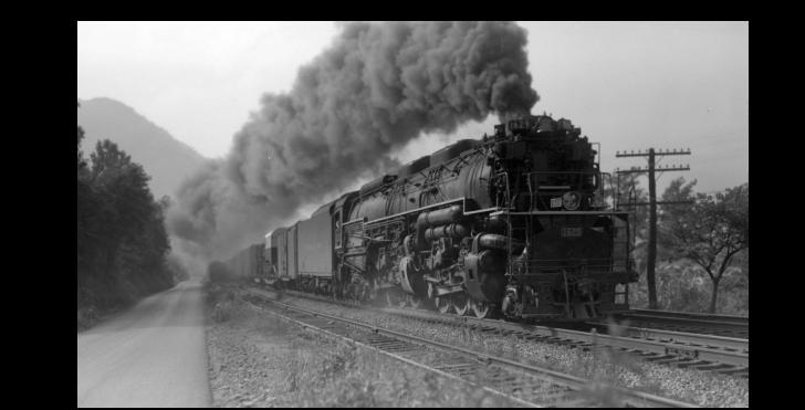 C&O Eastbound Mount Carbon WV June 26 1951