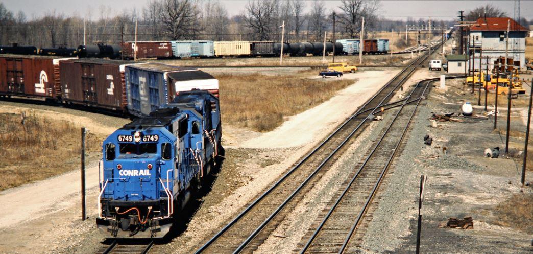CR Ridgeway 3-21-1987 John F. Bjorklund photo, Center for Railroad Photography and Art