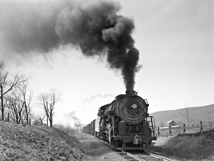LNE404 Benders Jct 3-31-1946 Donald W Furler photo, Center for Railroad Photography and Art
