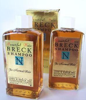 Breck Shampoo Bottles
