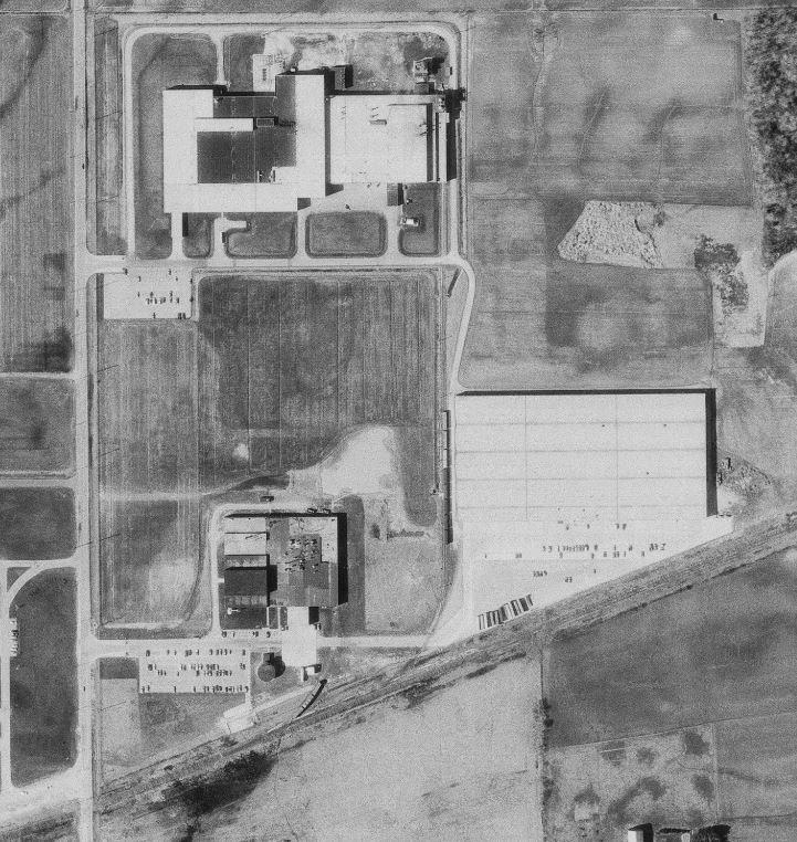 Mirro Plant 5 1976 aerial