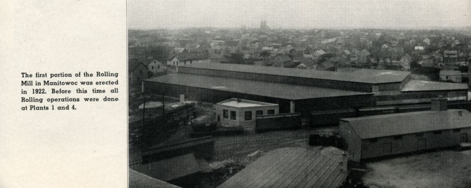 Mirro Rolling Mill (west side of 16th street)