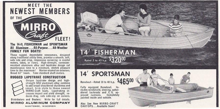 Mirrocraft 1961 ad